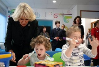 Royal re-opening of Piam Brown children's ward